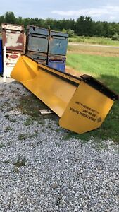 12 Backhoe Snow Box Snow Plow Pusher Blade
