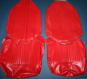 1960 1961 1962 1963 1964 Corvette Seat Cushion Covers New Excellent Condition