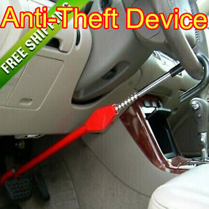 Steering Wheel Lock Vehicle Anti theft Device Fits Most Cars Truck Suv Van Auto
