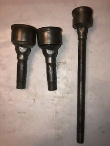 International Harvester M Ihc Logo Grease Cups Hit Miss Stationary Engine