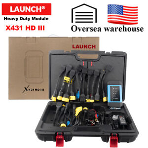 Launch Us X431 Hdiii Truck All System Diagnostic Scan Tool Work For X431 V Pro3