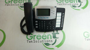 Digium Switchvox D50 Voip Poe Phone W Stand Handset Cord No Adapter Grade B