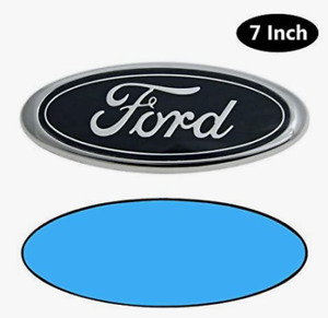 Ford 7 Inch Front Grille Tailgate Emblem 3d Oval 3m Double Side Adhesive