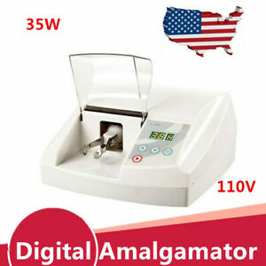 Ac 110v High Speed Amalgamator Amalgam Capsule Mixer Dental Lab Amalgamator