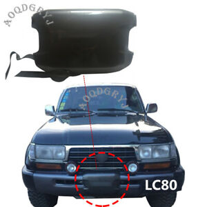 For Toyota Land Cruiser Lc80 Fzj80 1992 1997 Abs Front Bumper Winch Cover Trim