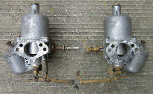 Pair Of Su Carburetors For Mga 1500