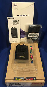 Rare New In Box Motorola Minitor Iii Uhf Pager Med 9 Med 10 With New Charger