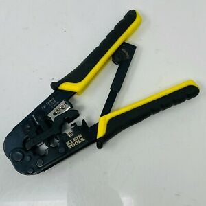 Klein Tools Vdv226 011 Ratcheting Data Cable Crimper Stripper Cutter