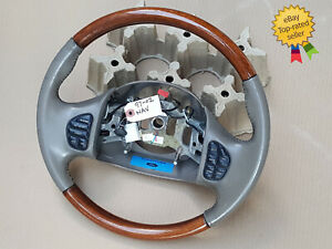1997 2002 Lincoln Navigator Ford Excursion F250 Steering Wheel Camel Tan Leather
