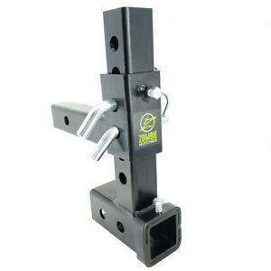 Adjustable All Ball Mount Drop Rise Trailer Tow Hitch For 2 2 1 2 3 Receiver