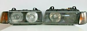 Headlights Bmw E36 Coupe Convertible Oem Bosch Set Magnifier Projector 1992 1998