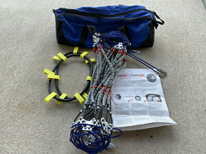 Scc Super Z 6 Light Truck Sz 435 Tire Cable Chains Pair Used