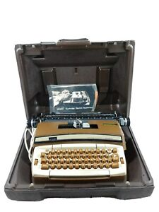 Vintage Smith Corona Montgomery Ward Cartridge Electric 12 automatic W Case