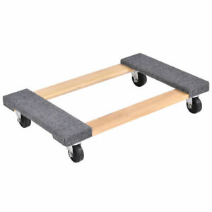 Furniture Dolly Moving Carrier Mover Handle Casters 1000lbs Capacity 30 18