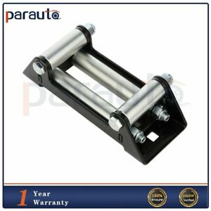 High Quality 4 Way Roller Cable Guide Offroad Winch Roller Fairlead 4000 5000lbs