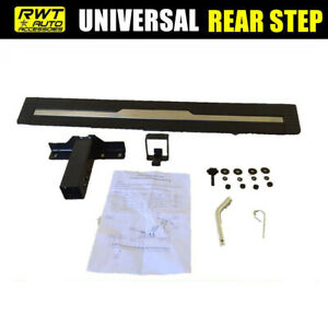 Universal 35 Black Aluminum Truck Suv Hitch Step Mounting Receiver Bumper Guard