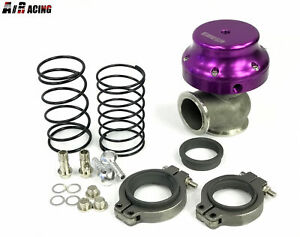 Emusa 38mm V Band Turbo Actuator Wastegate Adjustable Springs V6 V8 Motor Purple