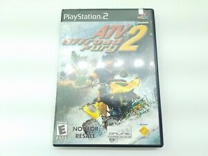 ATV Offroad Fury 2 (Sony PlayStation 2  2002) Not For Resale - with manual