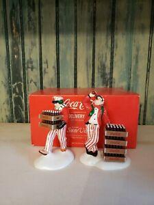Dept 56 Snow Village Coca-Cola Delivery Men - 54801