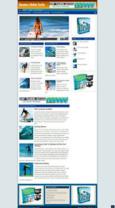 Better Surfing Website With Affiliate Options New Domain Hosting
