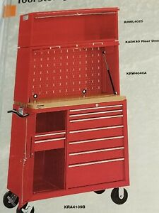 Snap On Red Krwl4025 40 Overhead Locker Accessory For Kra4107 Kra4109 Kra4813
