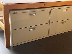 Hon 2 drawer Lateral File Cabinets