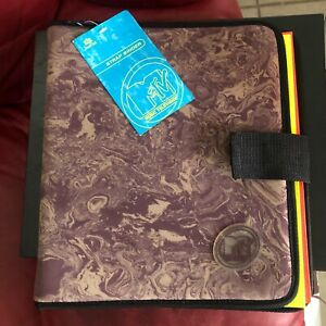 Rare Vintage 90s Mtv 3 Ring Binder New With Tags Stuart Hall Neon Folders Marble