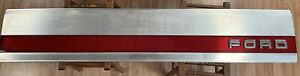 1987 96 Ford F150 Tailgate Panel F250 F350 Factory Trim Red Reflector