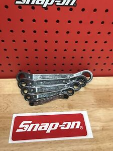 Blue Point By Snap On 5 Piece Sae Ratcheting Box Wrench Set 1 4 7 8
