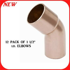 3 4 In Copper Pressure 90 degree Ftg X Cup Street Elbow Fitting R8