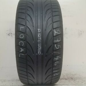 No Shipping Only Local Pick Up 1 Tire 275 40 18 Falken Fk452