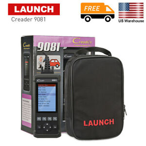 Us Launch Creader 9081 Obd2 Scanner 4 Inch Auto Tester Diagnostic Tool For Cars