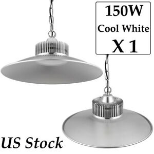 150w Led High Bay Lights Super Bright Cool White Warehouse Industrial Lighting