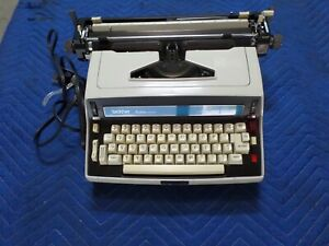 Rare Brother Pro lectric Model 6213 Electric Typewriter Xlnt Working Condition