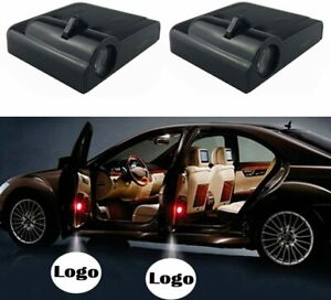 Car Logo Wireless Led Courtesy Car Door Ghost Shadow Projector Light Fit Toyota