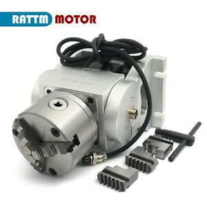 Ht90 10 100a 4th Axis 10 1 Two phase 86 Stepper Motor Adjustable Elevation Angle