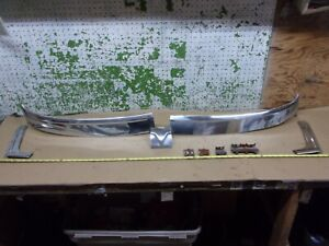 1955 Desoto Firedome 4 Dr Top Left Right Center Windshield Molding Trim Oem