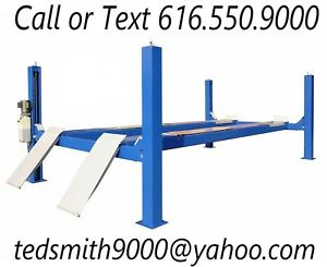 New Best Value Professional 14k 14000 Lbs Capacity 4 Post Alignment Lift
