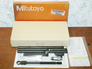 Mitutoyo Tubular Inside Micrometer Set No 139 201 1 1 2 12 Inches Lot2