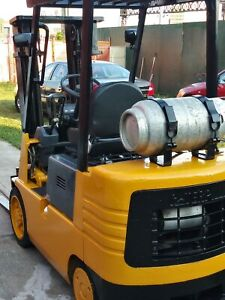 Forklift Very Good Condition Mitsubishi Caterpillar 2993 Hrs