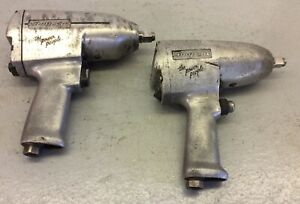 Snap On Im5100 1 2 Im51 1 2 Pneumatic Air Impact Wrench Tool Lot Of 2