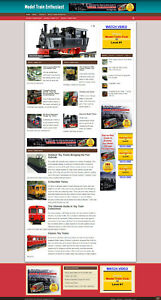 Model Trains Affiliate Website With Free Domain And Hosting Ssl Certificate
