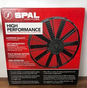Spal Automotive 30100435 10 Low Profile Fan Pull Curved Brand New Free Shipping