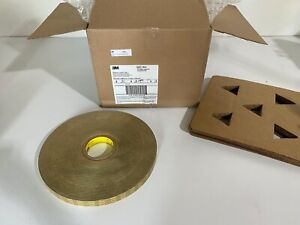 One Roll 3m Adhesive Transfer Tape 450xl Translucent 1 X 750yd X 1 0 Mil New