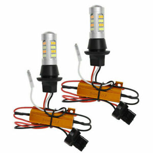 2x For Toyota Camry Plug Play Switchback Front Drl Parking Signal Led Resistor