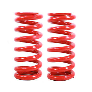 Red Coil Coilover Springs 12k 215mm 672 Lbs 8 5 In 65mm 2 5 I d Pair