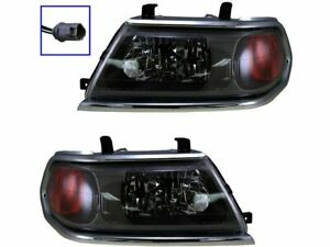 Headlight Assembly Set For 2000 2004 Mitsubishi Montero Sport 2003 2001 P298zm