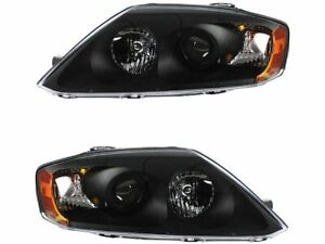 Headlight Assembly Set For 2005 Hyundai Tiburon B148sk Headlight Assembly
