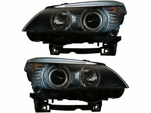 Headlight Assembly Set For 2008 2010 Bmw 528i 2009 G144wm Headlight Assembly