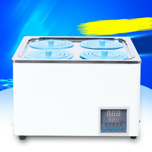 Digital Thermostatic Lab Water Bath Constant Temperature Four Hole 800w 110v Usa